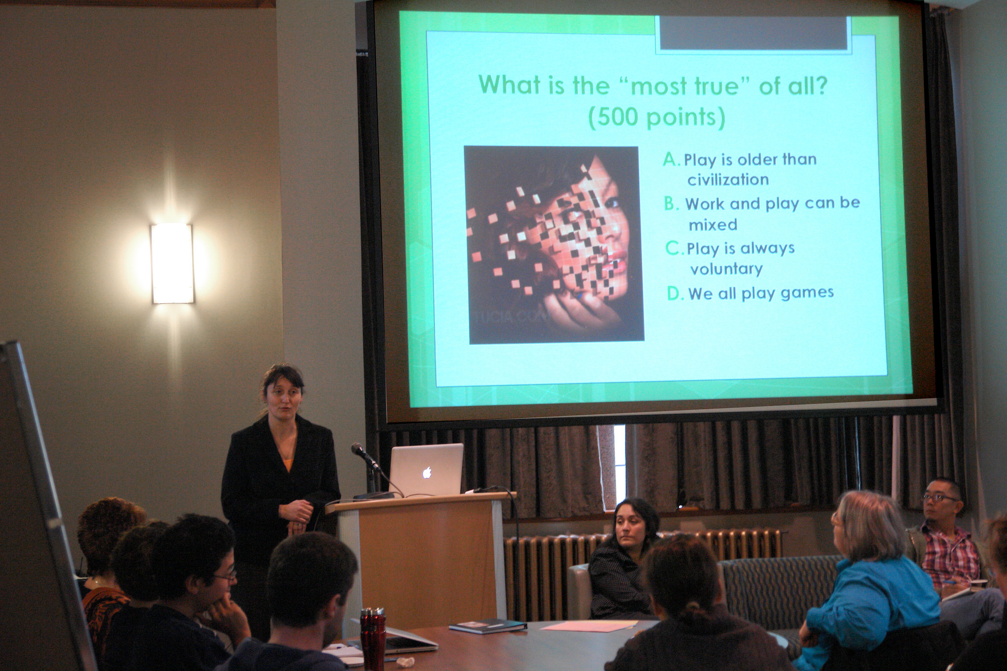 Game-based Learning panel, UBC 2012